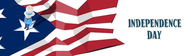 Uncle sam united states flag