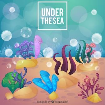 Под фоне моря