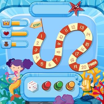 An underwater game