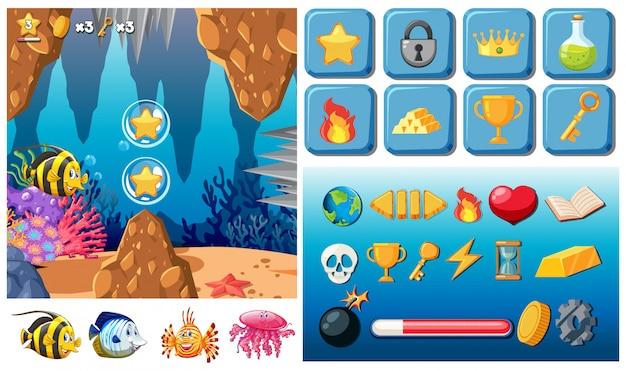 Underwater mega gaming pack