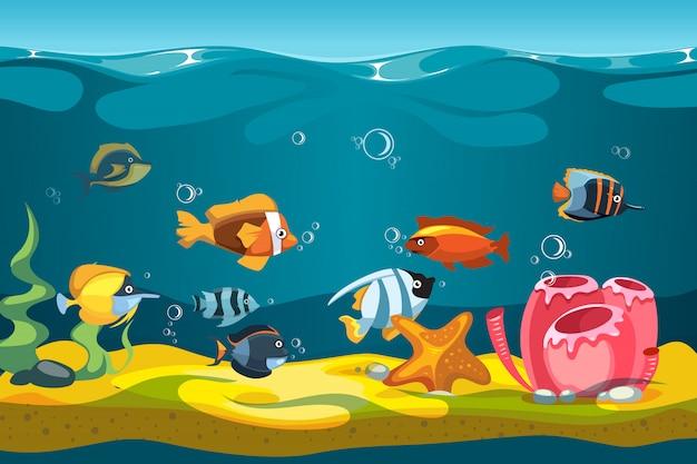 Underwater sea