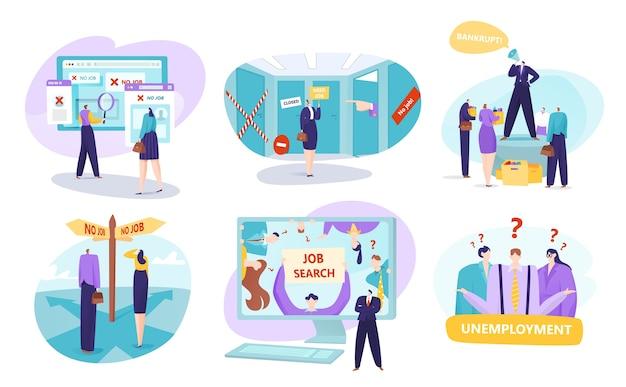 Безработица и концепция поиска работы