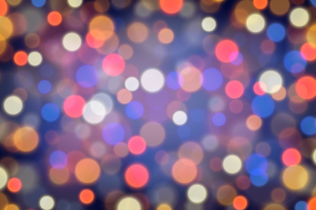 Unfocused abstract glitter bokeh background