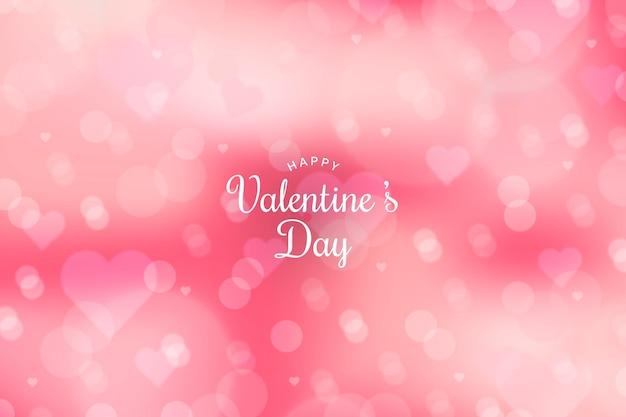 Unfocused valentine's day wallpaper