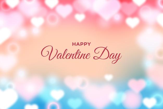 Carta da parati non focalizzata di san valentino