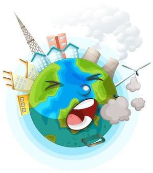 An unhealthy earth ocon