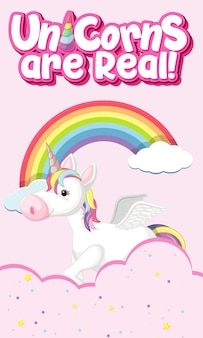 Unicorn are real sign