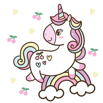 Unicorn cartoon