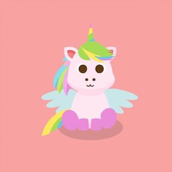 Unicorn character vector