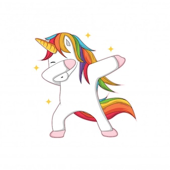 Unicorn characters who are doing dubbing