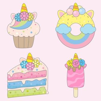 Единорог десерт