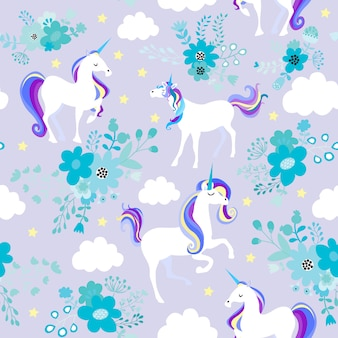 Unicorn dream purple