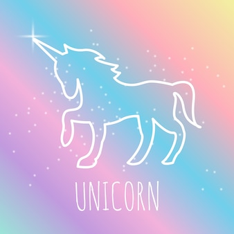 Unicorn logo design