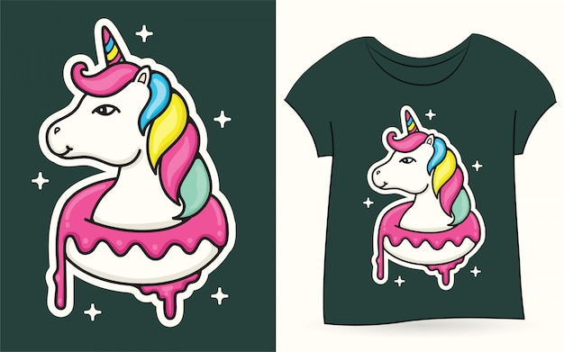 Unicorn for t shirt