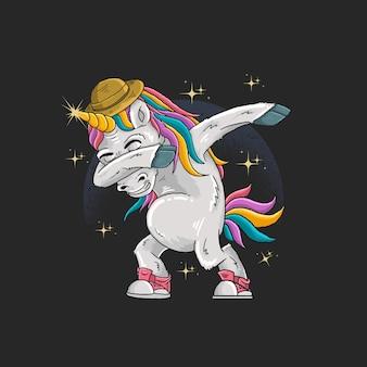 Unicorns are dabbing in full color
