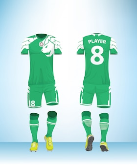Uniform football soccer green