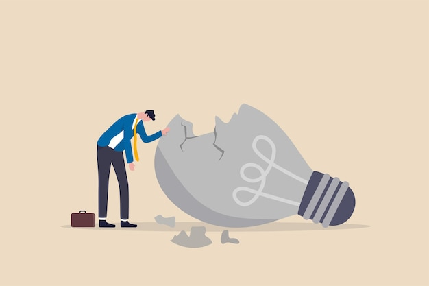 Отсутствие вдохновения или мотивация после провала в бизнесе, выгорания или истощения из-за кризиса