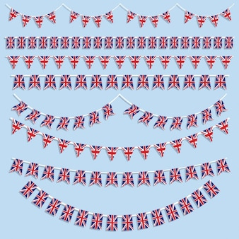 Union jack buntings collection