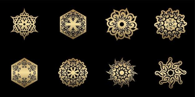 Уникальный набор украшений мандалы в этническом стиле