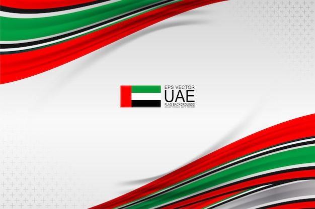 United arab emirates flag color concept backgrounds