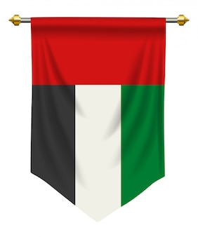 United arab emirates pennant