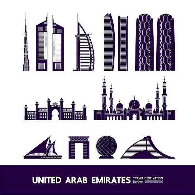 Путешествие в объединенные арабские эмираты grand