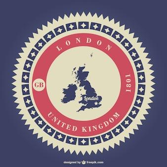 イギリスロンドンの無料のベクター