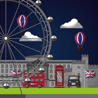 영국 국가 깃발