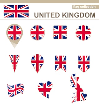 Коллекция флагов соединенного королевства, 12 версий