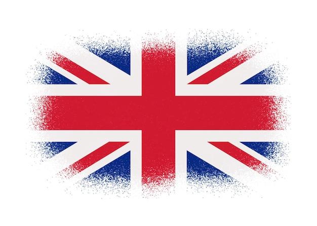 グランジスタイルのイギリス国旗
