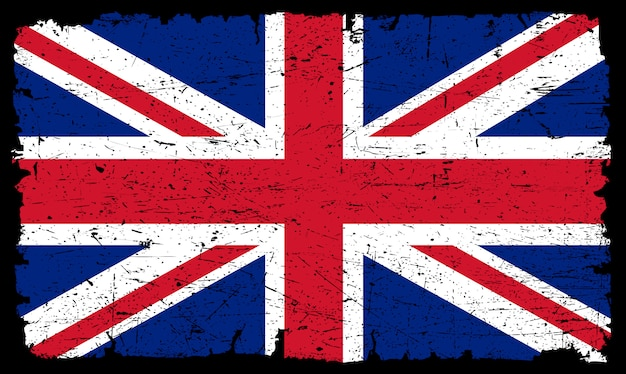 Старый флаг соединенного королевства