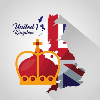 영국 장소 플래그