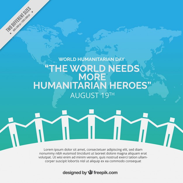 United people humanitarian background