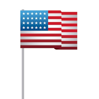 Best Of Us Flag Vector Art Free | KoolGadgetz
