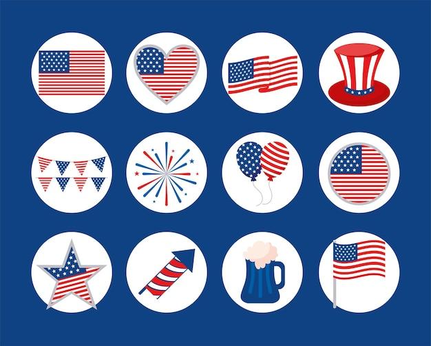 United states badges