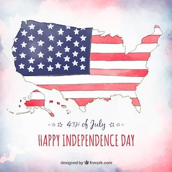 United states independence day celebration background