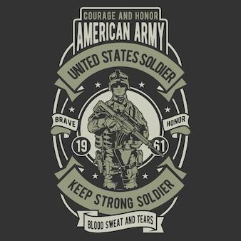 United states soldier