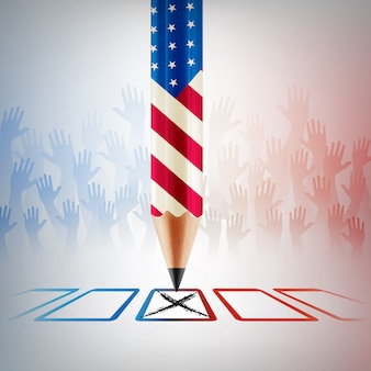 United states vote.american election day