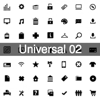 Universal icons pack 2