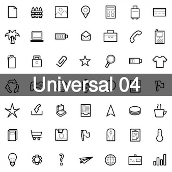 Universal icons pack 4