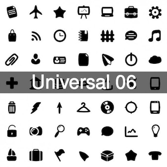 Universal icons pack 6