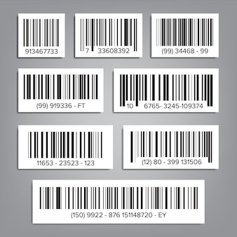 Universal product code set