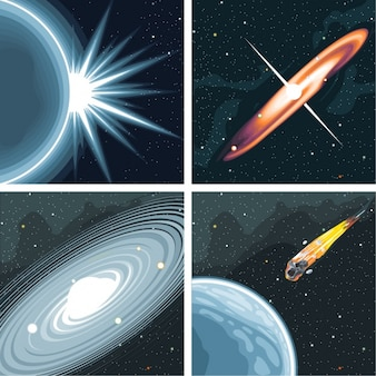 Universe and galaxy