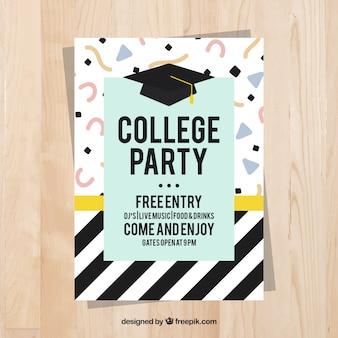 대학 축제 멤피스 포스터