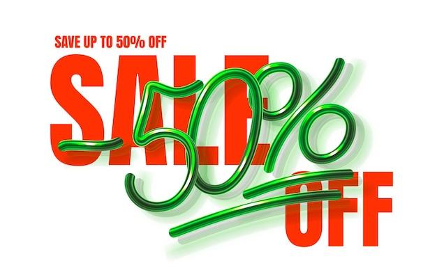 Up to  off sale banner promotion flyer marketing label vector