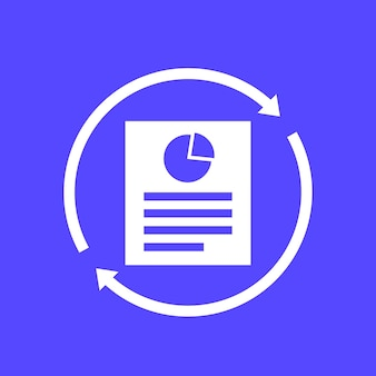 Update report, document icon for web