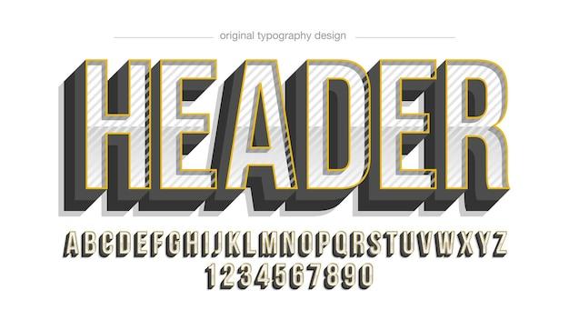 Uppercar chrome modern sports typography