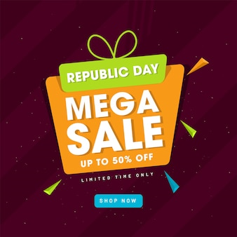 Upto 50% discount offer for republic day