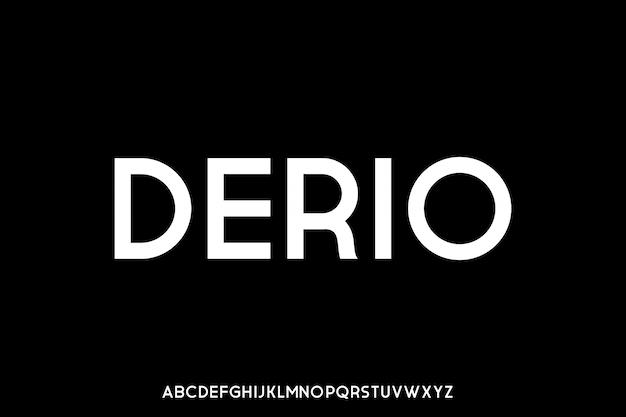 도시 압축 글꼴 서체