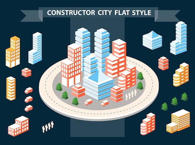 Городские дизайнерские пейзажи